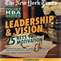 The New York Times Pocket MBA: Leadership and Vision Audiobook by Ramon J. Aldag, Buck Joseph,  Ed.D. Narrated by Jeff Woodman