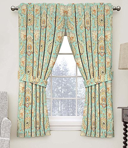 Waverly Clifton Hall Floral Window Curtain, 52