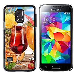 Exotic-Star ( Fruit Cocktail ) Fundas Cover Cubre Hard Case Cover para Samsung Galaxy S5 Mini / Samsung Galaxy S5 Mini Duos / SM-G800 !!!NOT S5 REGULAR!
