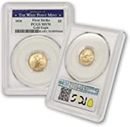 2020 1/10 oz American Gold Eagle MS-70 PCGS (First Strike, West Point) by CoinFolio $5 MS70 PCGS
