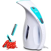 Aickar 180ml 800W Portable Garment Steamer (White/Mint)