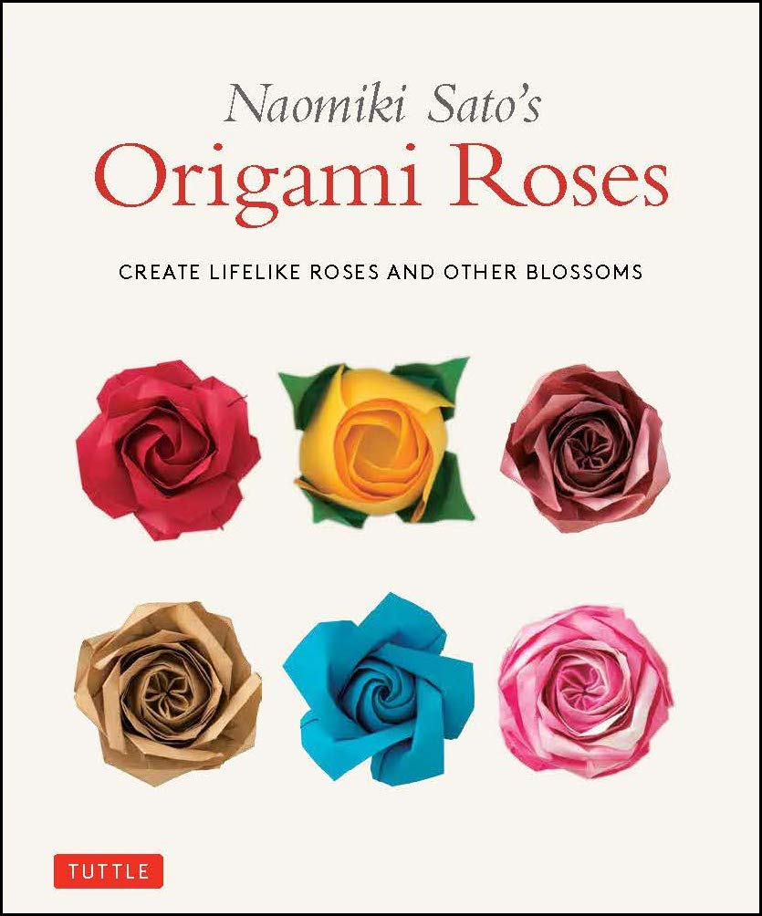 Easy to understand Origami Rose Instructions | Easy origami rose ... | 1004x835