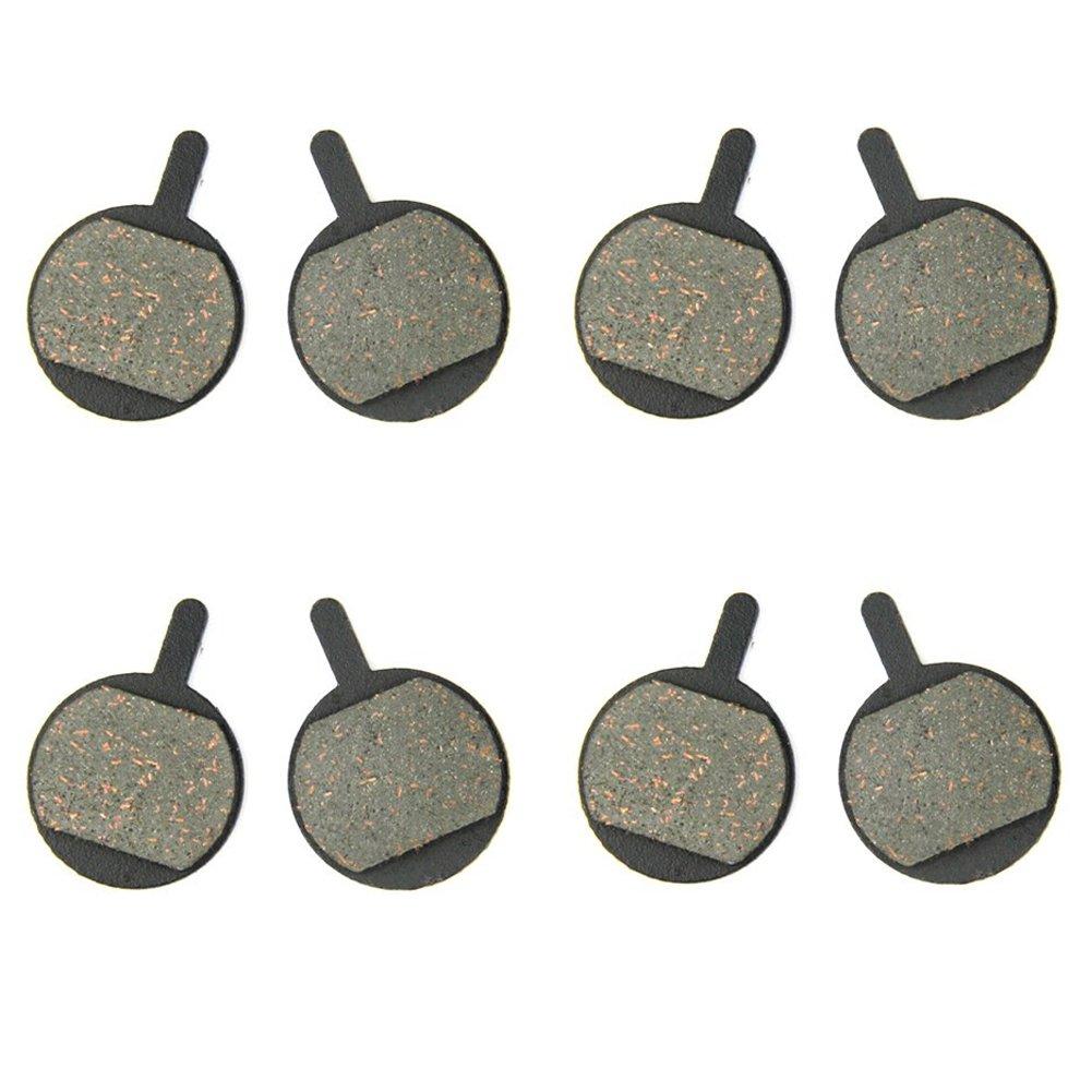 4 Pares SOMMET Pastillas Freno Disco Semi-metálico para PROMAX DSK-400 / 410 / 610 / 610J / 650 / 650J / XNINE ZSP10-4