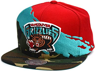 Gorras Vancouver Grizzlies Hwc Paintbrush Camo Snapback - Mitchell ...