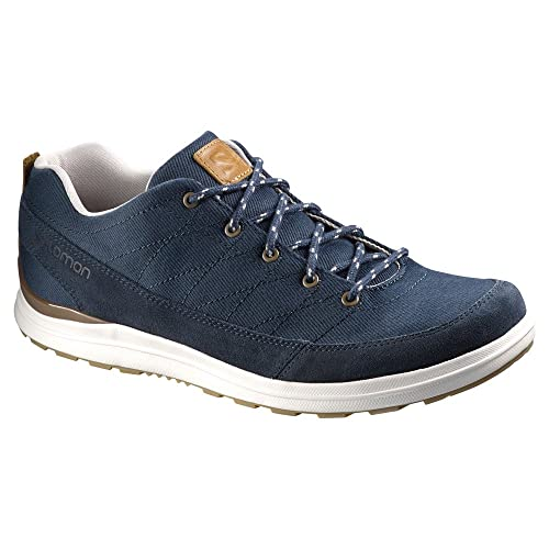 Salomon Men's XA Chill 2 Canvas Outdoor Lifestyle Shoe, Deep Blue/Deep Blue/