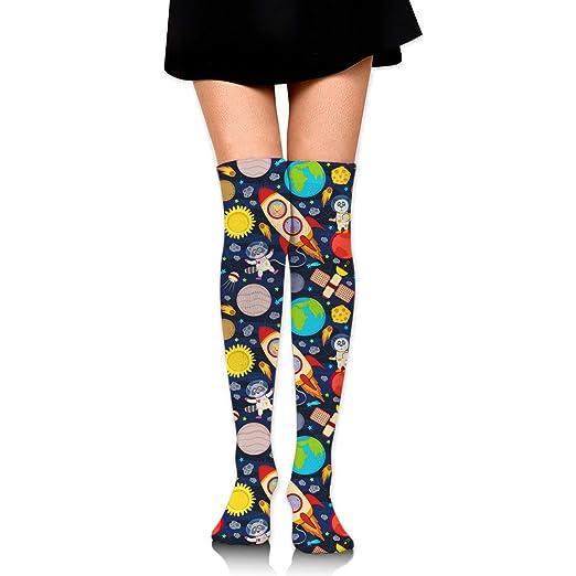 Womens/Girls Rocket And Animals Casual Socks Yoga Socks ...