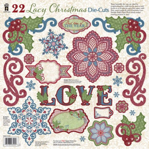 Hot Off The Press - Christmas Lace Die-Cuts