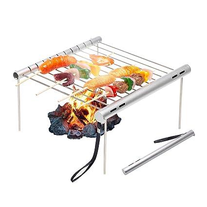 Barbeque Laptop Grill Klapp-Grill Camping-Grill BBQ Picknick-Grill Falt-Grill G