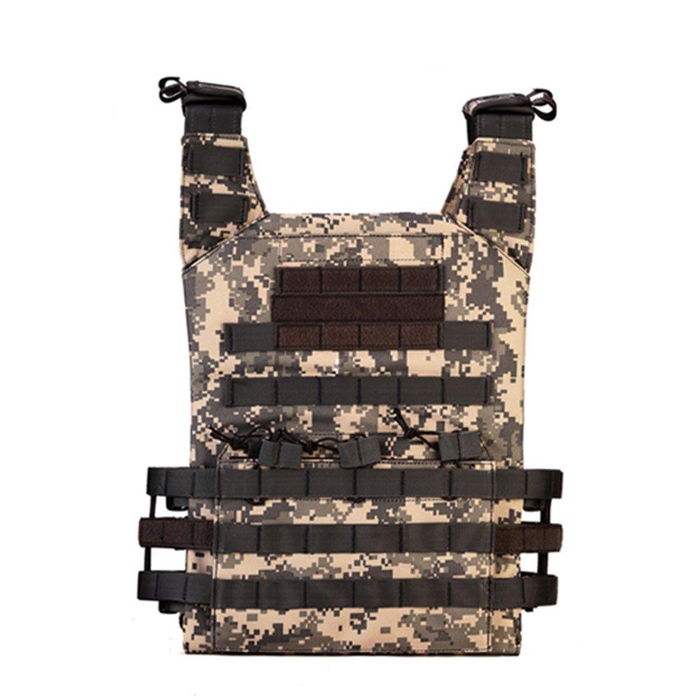 OXUN Reality CS Ausrüstung, Militärische Fan-Training Amphibische Weste, Camouflage, Mehrfarbig