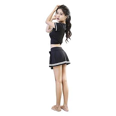 Amazon.com: YINUOQI Disfraz de animadora para cosplay, traje ...