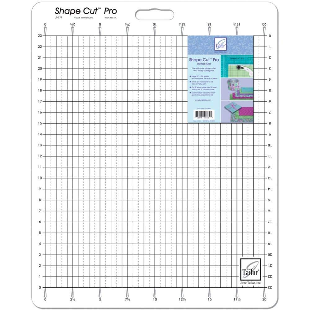 June Tailor 20-Inch-by-23-Inch Shape Cut Pro Ruler by June Tailor
