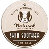 Natural Dog Company Skin Soother Healing Balm, Relieves Dry, Itchy Skin, Allergies, Skin Irritations, Hot Spots & Wounds, Org