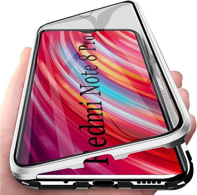 Solaxi Xiaomi Redmi Note 8 Pro Funda Magnetica, Estuche Adsorción ...