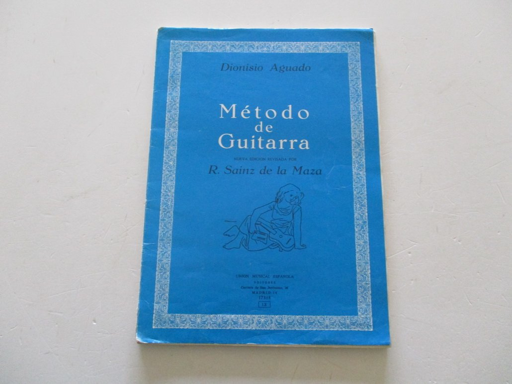 METODO DE GUITARRA: Amazon.es: Dionisio Aguado, UNION MUSICAL ...