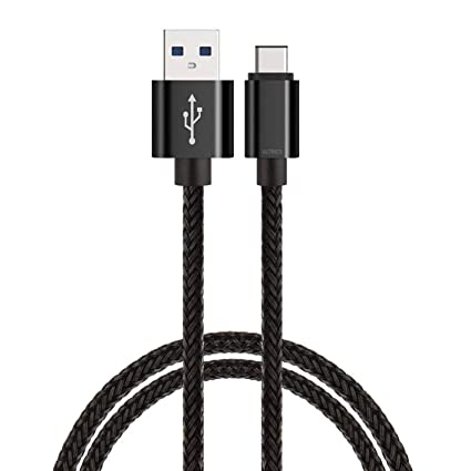 ULTRICS Cable USB C [1 Metro], Carga Rápida Tipo C a USB 2.0 Sincronización y Cargador Cable Compatible con Samsung Galaxy S10/ S9/ S8 Plus, Sony ...