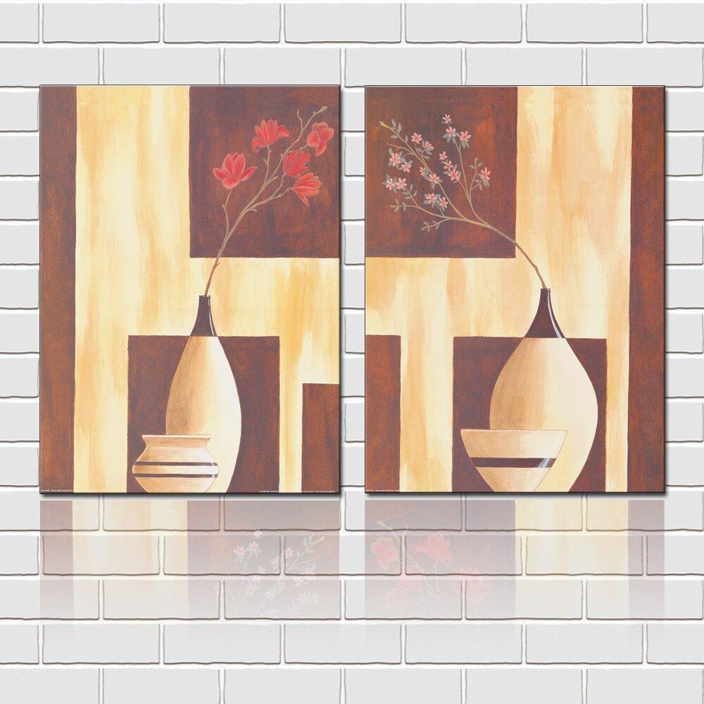 Amazon.com: yozhohoo Still Life With Flowers Wall Art Vintage Canvas ...