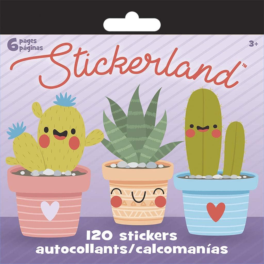Trends International Plants are Friends Mini STICKERLAND 6PG Pad