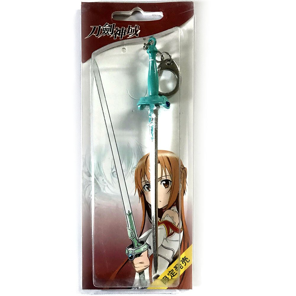 Anime SAO Sword Art Online Asuna espada llavero: Amazon.es ...