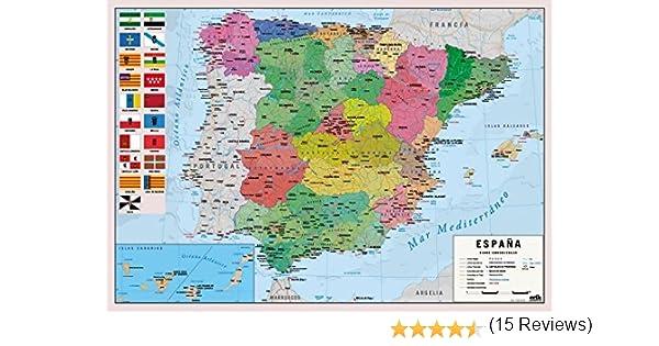 Grupo Erik Editores Vade Escolar Mapa España: Amazon.es: Oficina y ...