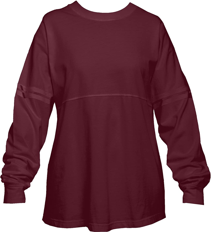 Amazon.com: Maroon Red Garnet Pom Pom Pullover Shirt for Women ...
