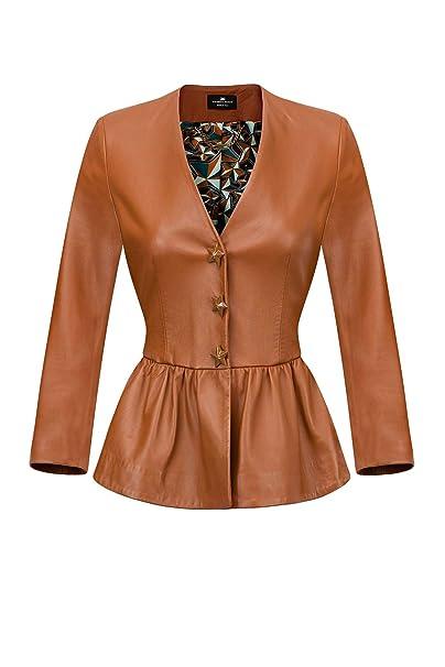 Elisabetta Franchi Giacca Donna GD05P91E2 GIANDUIA Estate 2019 P E 2019   Amazon.it  Abbigliamento 905eef7b21e0