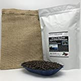 2-LBS SUPER FRESH ROASTED – BOLD BLEND COFFEE (in a FREE BURLAP BAG) – Order Today/ROASTED TODAY – Beautiful Medium/Dark, Whole Bean – SUPER SWEET – a Perfectly Developed Roast – BEST TASTES