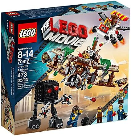 Amazon Com Lego Movie 70812 Creative Ambush Toys Games