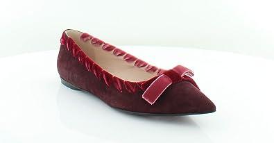 71345496c2c36 Amazon.com | Fendi 8f6601 Women's Flats & Oxfords RED Pink Size 8.5 ...
