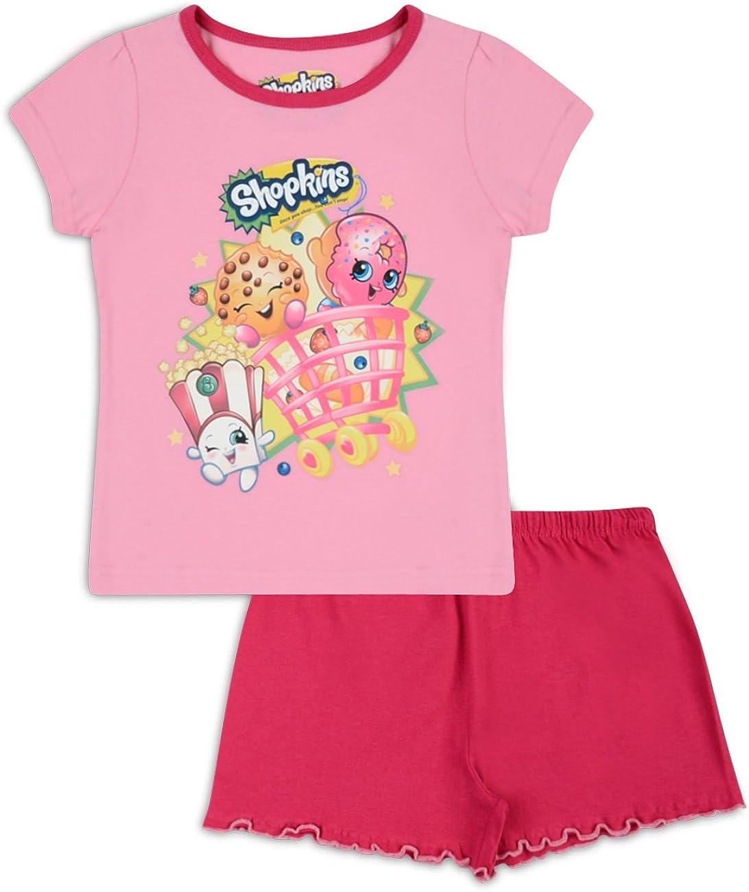 Shopkins Girls Short Pyjamas