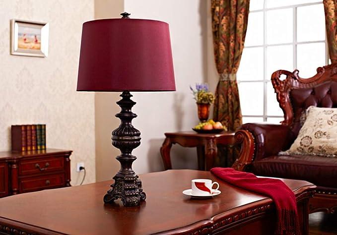 Lampada Scrivania Viola : Bei yi lampada da tavolo lampada da comodino europea retro da tavolo