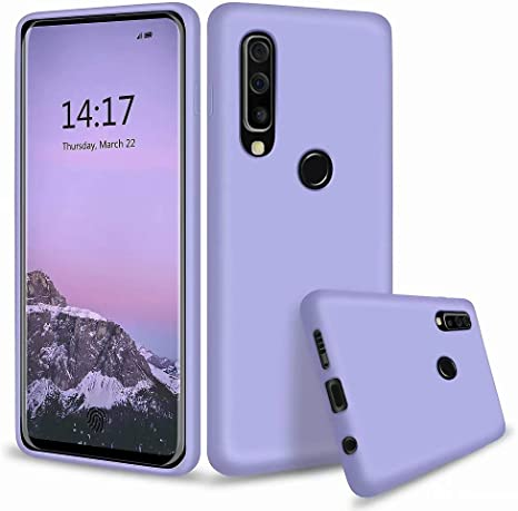 MUTOUREN Huawei P30 Lite Nova 4e Funda Silicona Líquido Delgado TPU Gel Goma Cover Case Full Protección Anti Caída Flexible Carcasa Compatible con