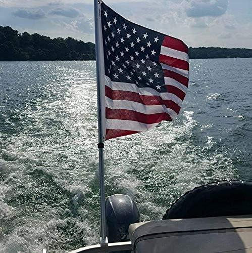 Removable Pontoon Boat Flag Holder [GenesisTool] Picture
