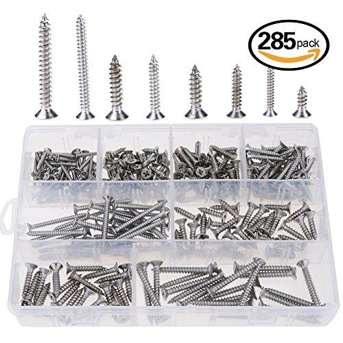 8 stainless steel screws - 8