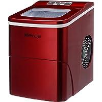 MVPower Ijsblokjesmachine elektrische ijsmachine Ijsblokjesmaker met touch panel & LCD display ice maker, 2…