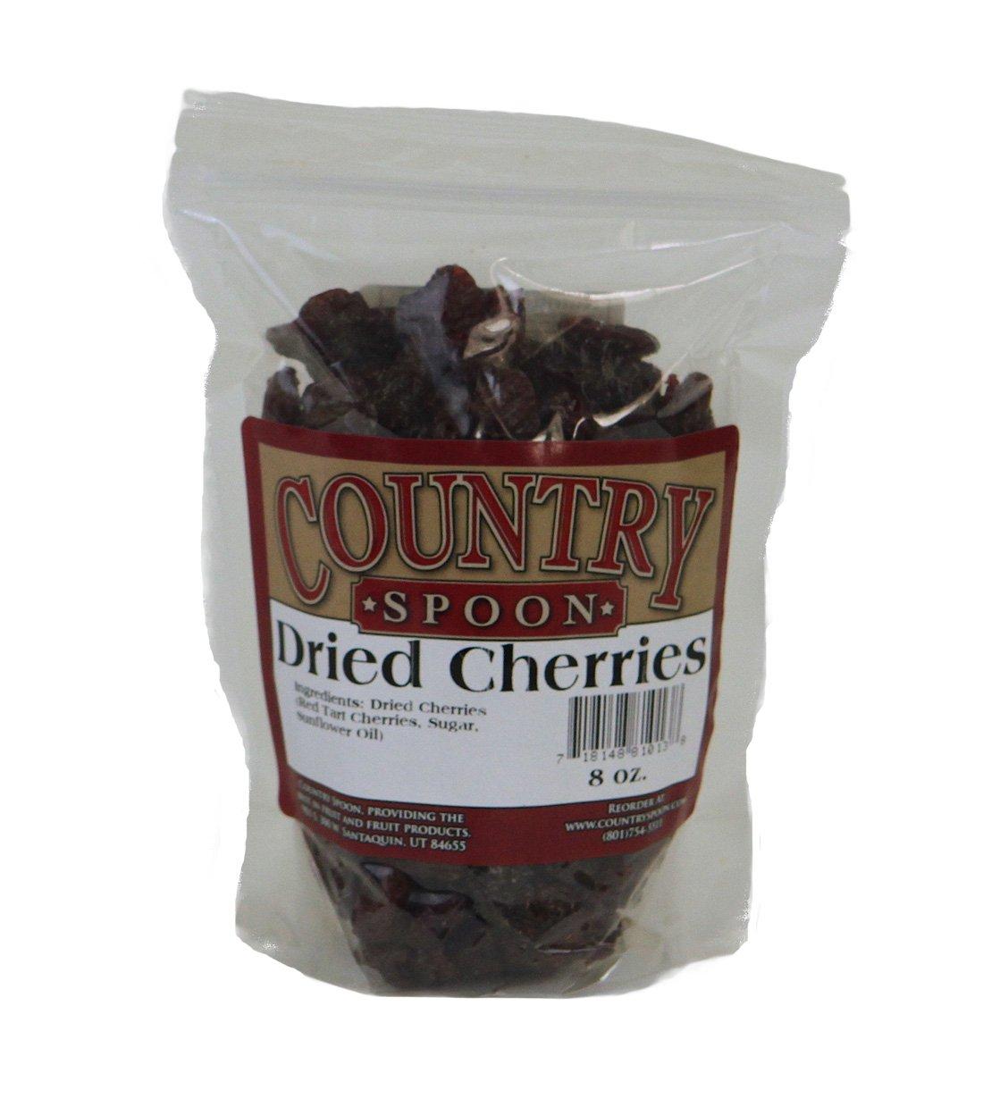 Dried Tart Montmorency Cherries by Country Spoon - 8 oz. Bag