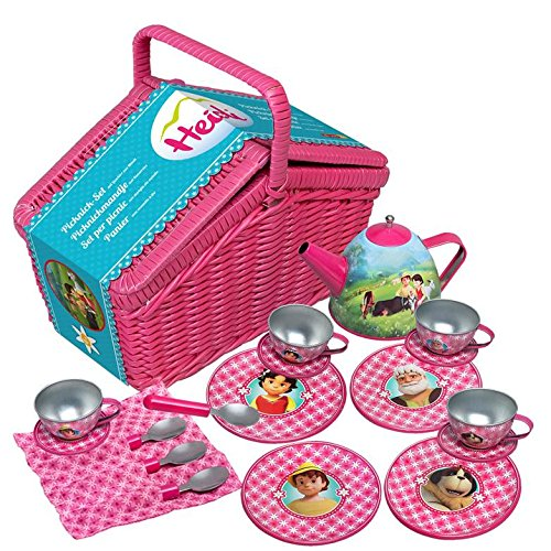 Kinder Kochgeschirr Vergleich - Heidi Picknick-Set