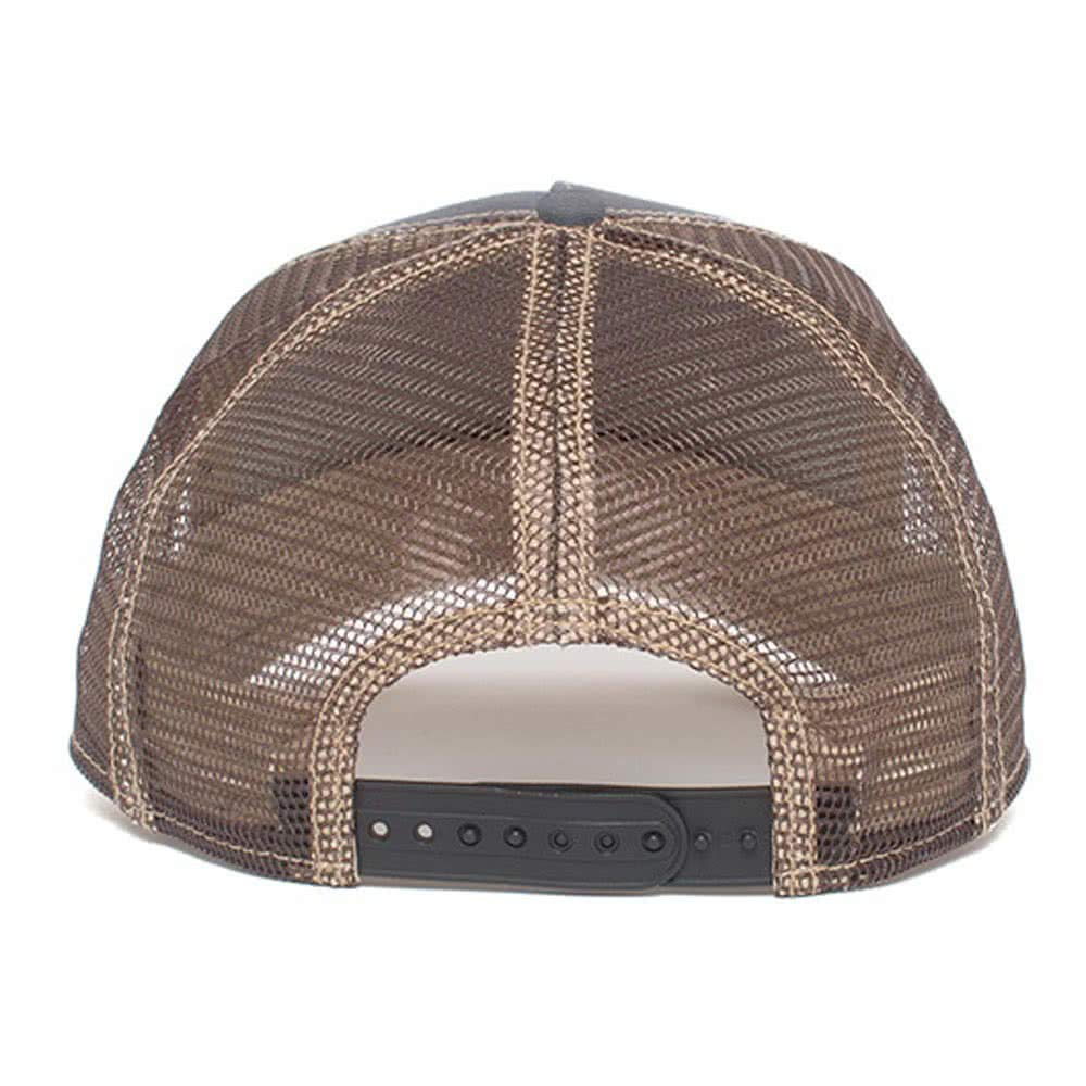 Goorin Brothers Unisex Animal Farm Snap Back Trucker Hat Grey You Stud One Size by Goorin Bros. (Image #3)