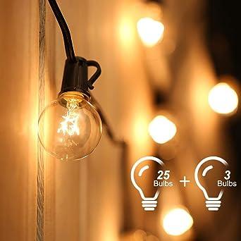 Tomshine G40 Lichterkette für den Außenbereich, 25