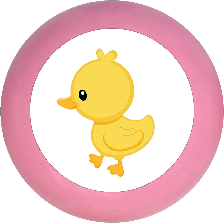 Sue/ño infantil Muebles y animales de granja Madera/-/Ni/ños habitaci/ón de los Ni/ños Pato/-/35/x 30/mm rosa rosa