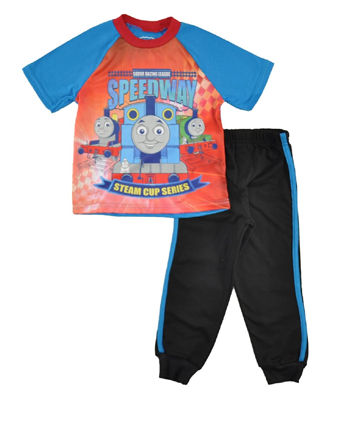 discount Thomas and Friends Little Boys Toddler Tee and Jogger Pants Set supplies