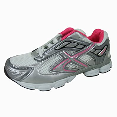 UK Shoes Store  Ladies Running Trainers New Womens Shock Absorbing Fitness Gym Sports Shoes Size Bl