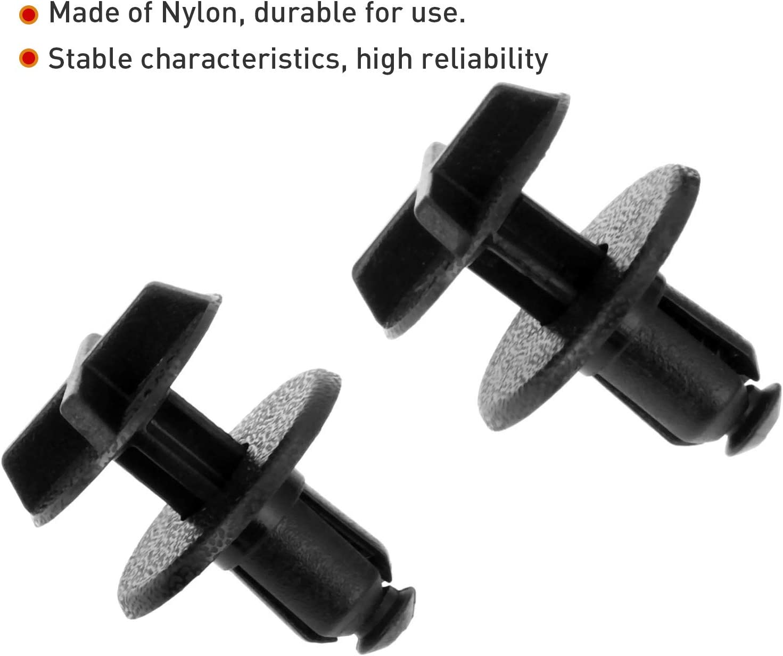Dreld/20 Pcs Cowl Panel Clip Car Retainer Push Pin Rivet Trim Clip Panel Bumper Fastener