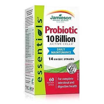 Amazon.com: Jamieson 10 mil millones, 60 vegi-caps: Health ...