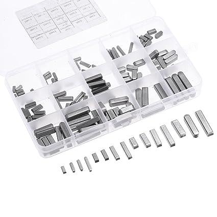 KKmoon 140 Pcs Espaciadores de PCB con terminaci髇 redonda 16 tipos de acero inoxidable 304