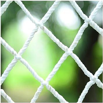 Malla de jardín YINUO Red de Cuerda Blanca, Red de Seguridad de construcción, escaleras de balcón Red anticaída jardín decoración de jardín de Infantes Aislamiento de Red: Amazon.es: Deportes y aire libre