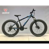 Mankani Fat Tyre Bicycle/Cycle With 7 Shimano Gears