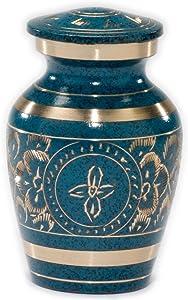 Beautiful Life Urns Azure Cremation Urn (Keepsake/Mini-Not Full Size)