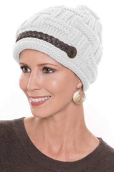 9c82fcbb3ff Basket Weave Braid Beanie Hat