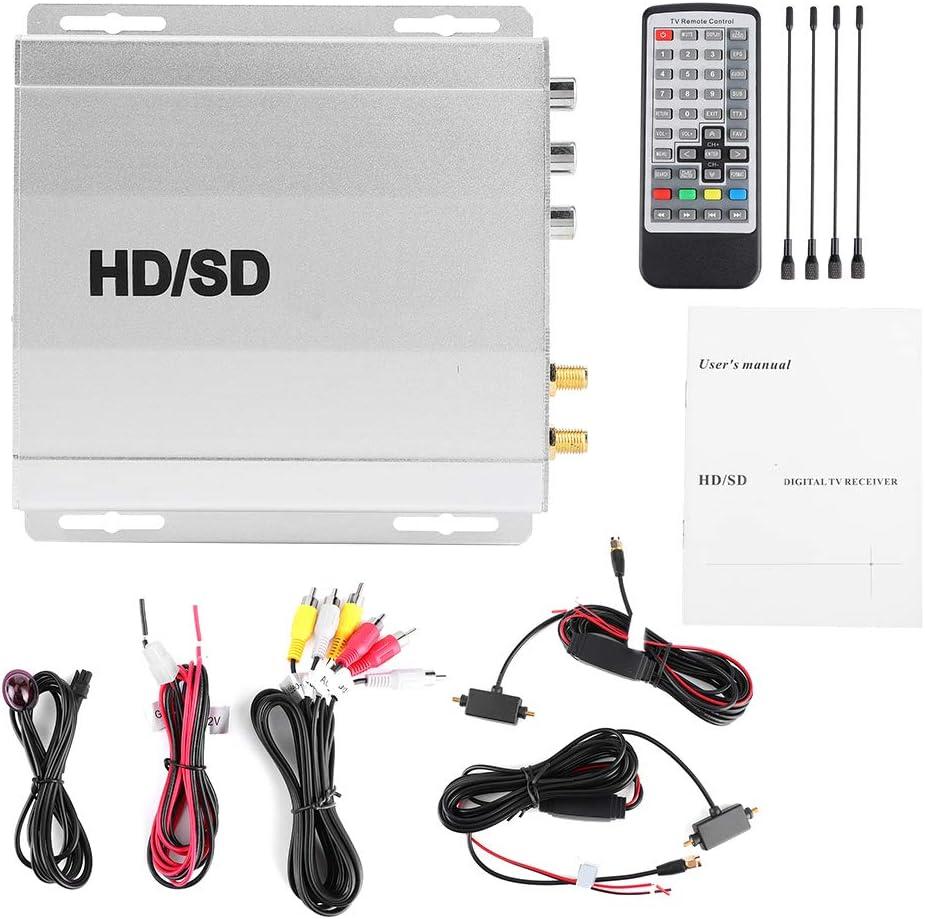 Sintonizador de Coche Receptor de TV Digital Caja 2 ...