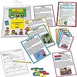 Really Good Stuff Main Idea Markup Reading Comprehension Game Grades 4-5